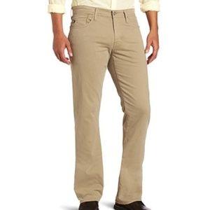 AG Men's Protege Straight Leg Khaki Pants